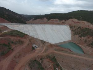 AYDINLAR AKBAŞ DAM REINFORCEMENT CONSTRUCTION